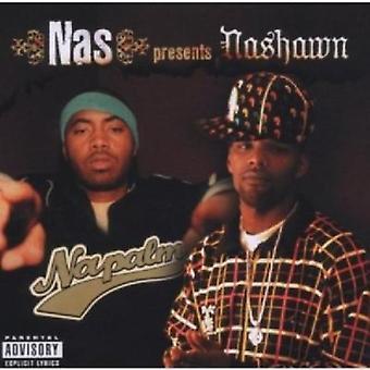 NAS presenteert Nashawn - Napalm [CD] USA importeren
