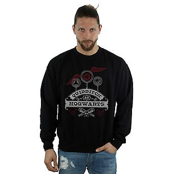 Harry Potter Men's Quidditch At Hogwarts Sweatshirt