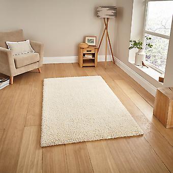 Crema de 01810A de alfombras Shaggy Loft