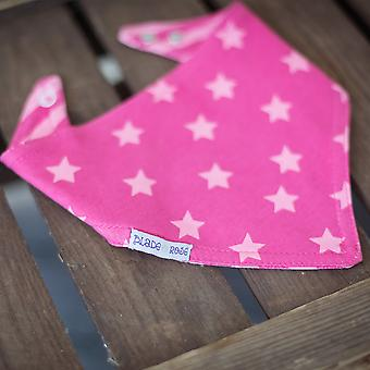 Blade & Rose Pink Star Reversible Bandana