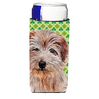Norfolk Terrier Lucky Shamrock St. Patricks Tag Ultra Getränke Isolatoren für s