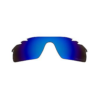 SEEK Replacement Lenses Compatible for Oakley VENTED RADAR PATH Polarized Blue