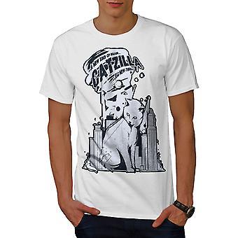 Quote City Funy Funy Men WhiteT-shirt | Wellcoda