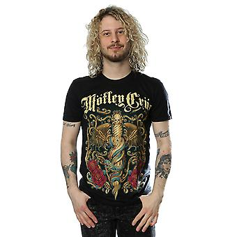 Motley Crue Men's Exquisite Dagger T-Shirt