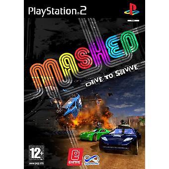 Mashed (PS2) - Neue Fabrik versiegelt