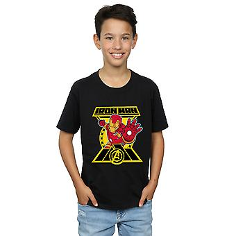 Wonder Boys Avengers Iron Man Logo T-Shirt