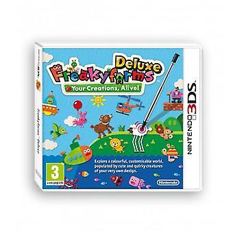 Freakyforms Deluxe (Nintendo 3DS) - New