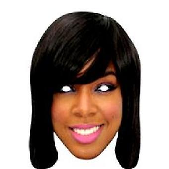 Kelly Rowland Gesichtsmaske.