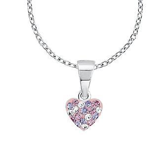 Printesa Lillifee copii copii colier Silver Heart cristale 2013171
