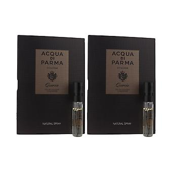 Acqua Di Parma 'Colonia Quercia' Eau De Cologne Concentrate 1.2ml (Pack Of 2)