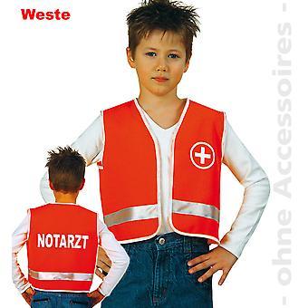 Lapset ambulanssi Medic lääkäri puku pelastus lapsi puku