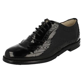 Ladies Van Dal Smart Brogue Style Shoes Clyde