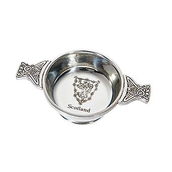 Celtic Lion of Scotland Standard Pewter Quaich