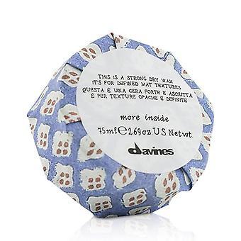 Davines mer Inside Dette er en sterk tørr voks (for definerte mat teksturer)-75ml/2.69 oz
