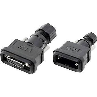 Amphenol LTW SDB-09BMMA-SL7001 2601-0120-11 D-SUB plug 180 ° Number of pins: 9 Soldering 1 pc(s)
