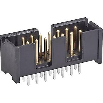 TE Connectivity Pin strip Contact spacing: 2.54 mm Total number of pins: 16 No. of rows: 2 1 pc(s)