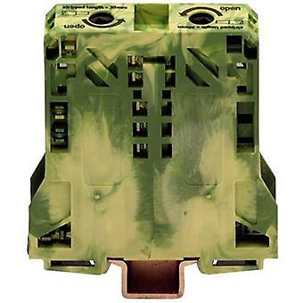 WAGO 285-157 PG terminal 20 mm Pull spring Configuration: Terre vert-jaune 1 PC (s)