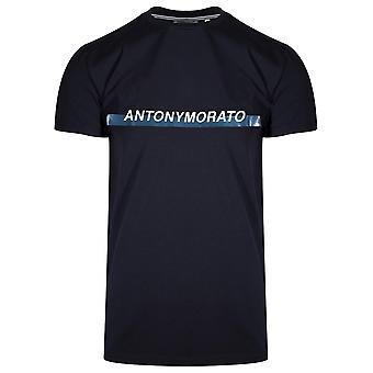 Antony Morato Sport Antony Morato Crew Neck White T-shirt