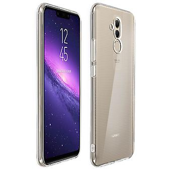Silicone case, Glossy & matte back cover for Huawei Mate 20 lite – Ultra clear