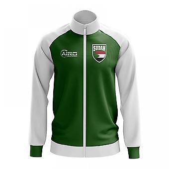 Sudan koncept fodbold Track jakke (grøn)