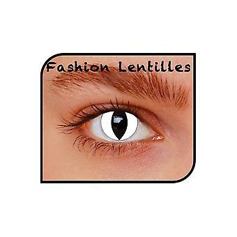 Special effect contact lenses  White cat month lenses per pair