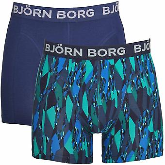 Björn Borg 2 Pack Super Shade shortsit, Navy, Iso