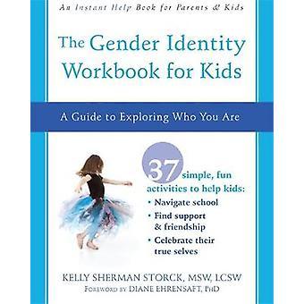Kön identitet arbetsboken för barn - en Guide till att utforska som du A