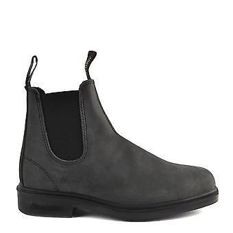 Blundstone Mens' 1308 Rustic Black Premium Leather Boot