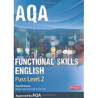 AQA fonctionnelle étudiant anglais livre: Pass niveau 2