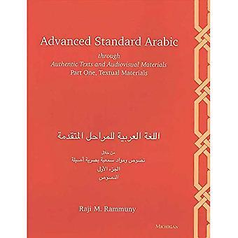 Erweiterte Hocharabisch durch authentische Texte und audiovisuelles Material: Teil eins, textuelle Materialien, Bd. 1