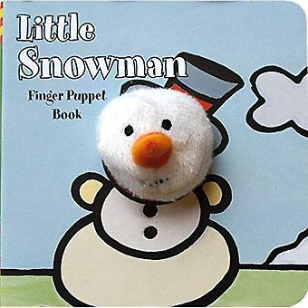 Lilla snögubbe Finger marionett bok (Finger marionett böcker)