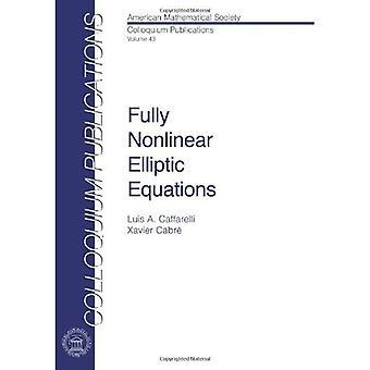 Completamente non lineare equazioni ellittiche