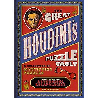 Cofre de quebra-cabeça de o grande Houdini