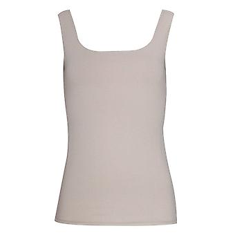 Latte mouwloos ronde hals Vest Top