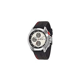 Sector No Limits watch chronograph quartz men's watch with leather R3271687003