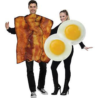 Couple Costume Bacon oeufs