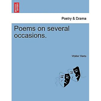 Poems on several occasions. by Harte & Walter