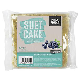 Natures piata Wild Bird feed Suet Cake-Wild Berry aroma Food