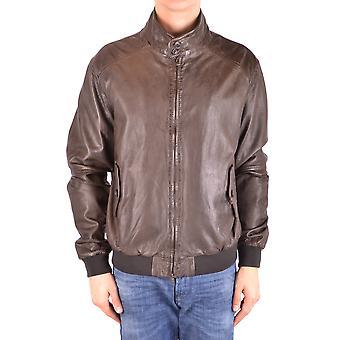 Altea Ezbc048118 Men's Brown Leather Outerwear Jacket