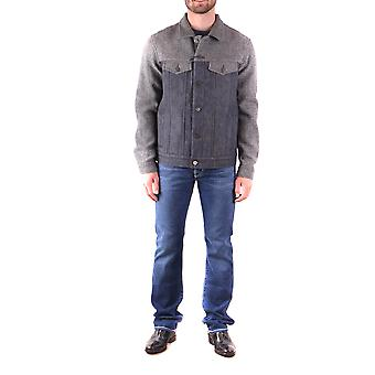 Jacob Cohen Ezbc054041 Männer's grau Baumwolle Outerwear Jacke