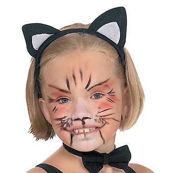 Kat ører for børn kat øre hovedbøjle tilbehør Halloween Carnival