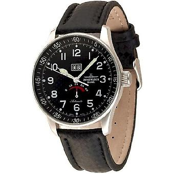 Zeno-horloge mens Bekijk X-grote retro power reserve P590-s1