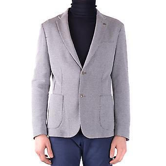 Massimo Rebecchi Ezbc214016 Men's Grey Cotton Blazer