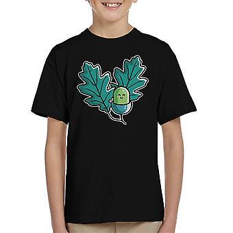 T-shirt bonito do miúdo da bolota