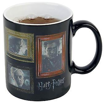 Harry Potter Portraits lämmön muutos muki