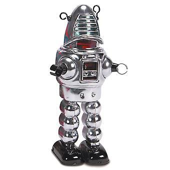 Robot mécanique chrome Planet