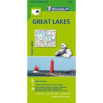 Great Lake Zoom Map 173 - 9782067190849 Book