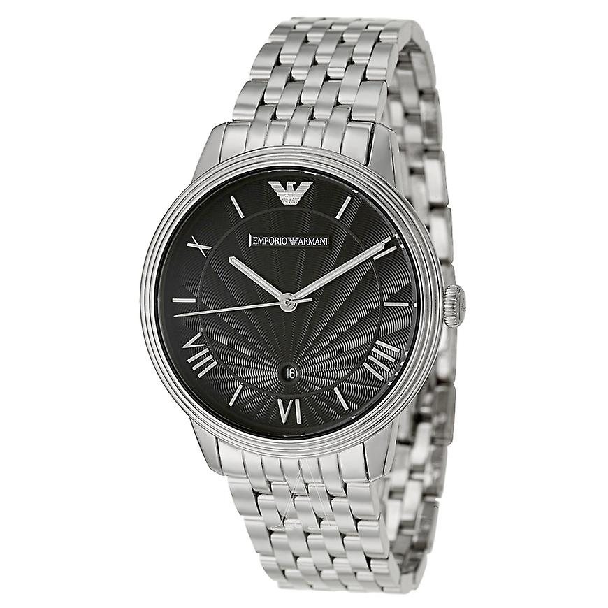 Emporio Armani Ar1614 Gents Classic Stainless Steel Watch