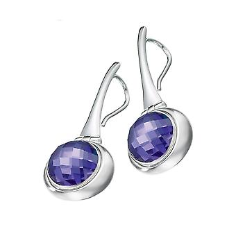 KAMELEON JewelPop Hinged Oval Drop Sterling Silver Earrings KE43