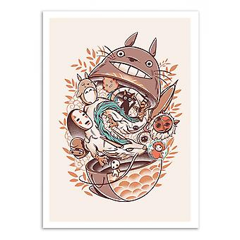 Art-Poster - Ghibli's Matryoshka - Ilustrata